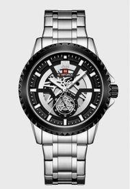 Reloj Multifunción Plata Naviforce
