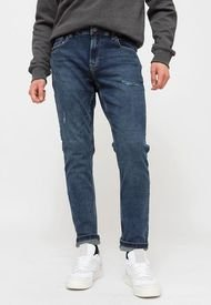 Jeans Only & Sons ONSLOOM LIFE SLIM D  Azul - Calce Slim Fit