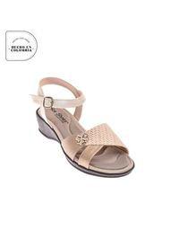 Priceshoes Sandalia Plana Confort Dama 4722535CHAMPANA