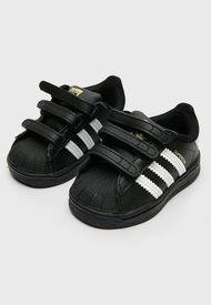 Zapatilla  Superstar Negro Adidas Originals