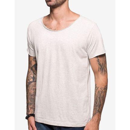 T-Shirt Hermoso Compadre Casual Cinza