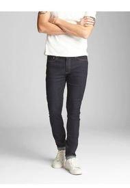 Jeans Super Skinny Rensin Rinse Hombre Azul GAP