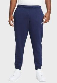 Pantalón de Buzo Nike M NSW CLUB JGGR BB Azul - Calce Regular