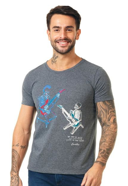 Camiseta Docthos Mm Azul