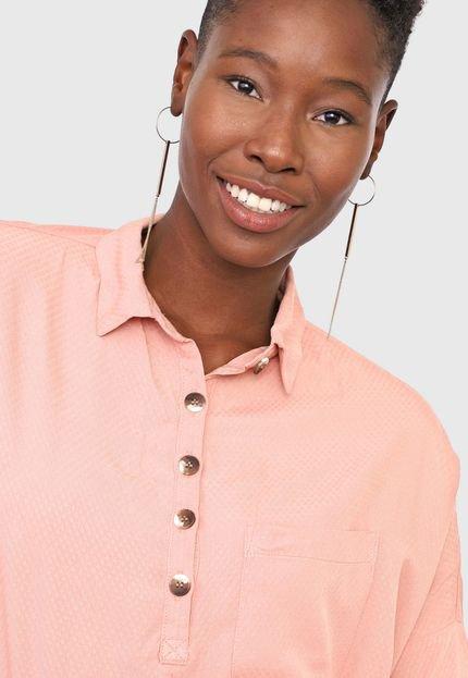 Lez a Lez Camisa Lez a Lez Padronagem Rosa