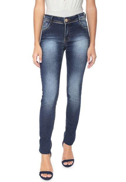 Menor preço em Calça Jeans dimy Skinny Selena Azul