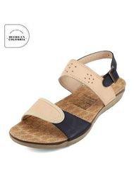 Sandalia Dama Piel*Azul  Tellenzi 425