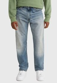 Jeans Levis 551Z Authentic Straight Hula Hopper Azul - Calce Regular
