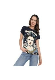 Camiseta Para Mujer Frida Kahlo Azul