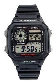 Reloj Deportivo Negro Casio