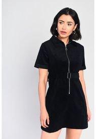 Vestido Glamorous Negro - Calce Ajustado