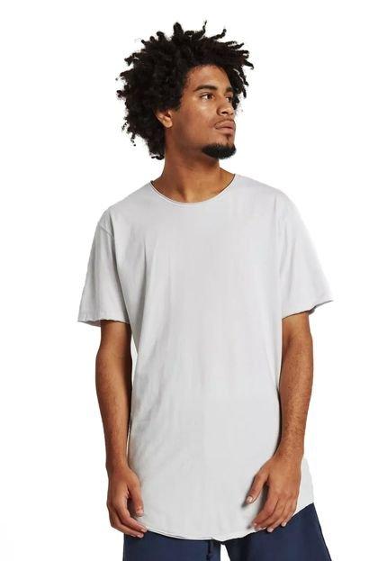 Camiseta Rulfini Store Cinza Claro