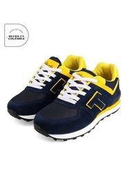Tenis Infantil Azul*amarillo  Tellenzi 040J
