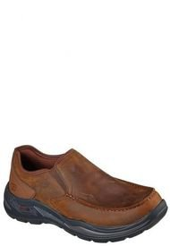 Zapato Camel Arch Fit Motley Hust Skechers