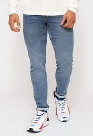 Jeans Only & Sons Azul - Calce Slim Fit