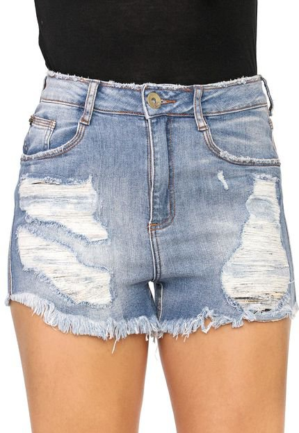 My Favorite Thing(s) Short Jeans My Favorite Thing(s) Grandfather Azul