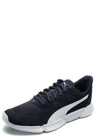 Tenis Lifestyle Azul Navy-Blanco Puma Interflex Runner