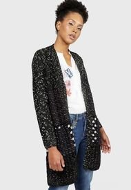 Cardigan Desigual Multicolor - Calce Regular