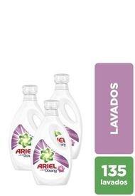 Pack X 3 Detergente Líquido Con Un Toque De Downy 1,8 L Ariel