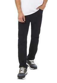 Jeans Slim Spandex I Negro - Hombre Corona
