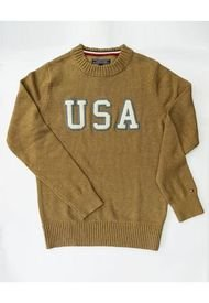Sweater Verde Tommy Hilfiger Graphical C-Nk Cf