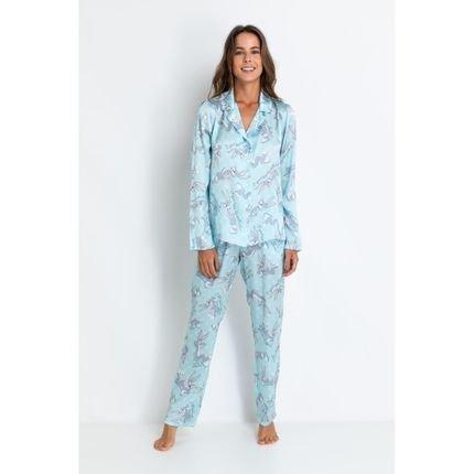 ACUO Pijamas Acuo Pijamas Azul AzU6T