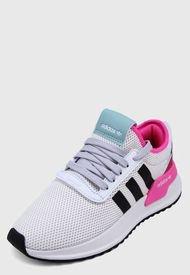 Tenis Lifestyle Beige-Negro-Fucsia adidas Originals U_Path X