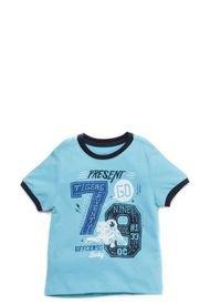 Camiseta Manga Corta Azul  OFFCORSS