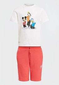Conjunto Short+Polera Disney adidas originals SHORT TEE SET  Multicolor - Calce Regular