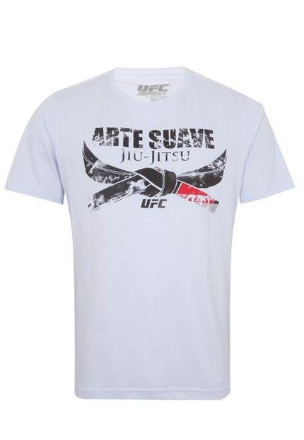 Camiseta Ufc Arte Suave Branca