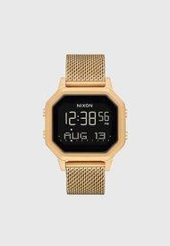 Reloj Digital Dorado Nixon