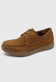 Zapato Casual Cuero Camel Nat Geo