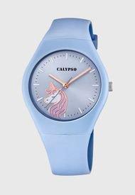 Reloj Casual Azul Calypso