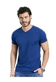 Camiseta Para Hombre Azul Rey Mp