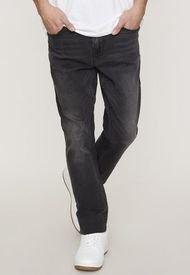 Jeans I Slim Super Flex Negro - Hombre Corona