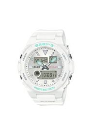 Reloj Digital-Análogo Blanco Baby-G