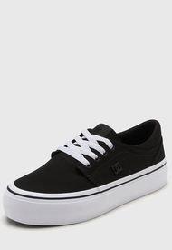 Zapatilla Negra DC Shoes Trase Platform