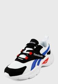 Tenis Running Blanco-Azul-Negro-Rojo Reebok Classics Royal EC Ride 4