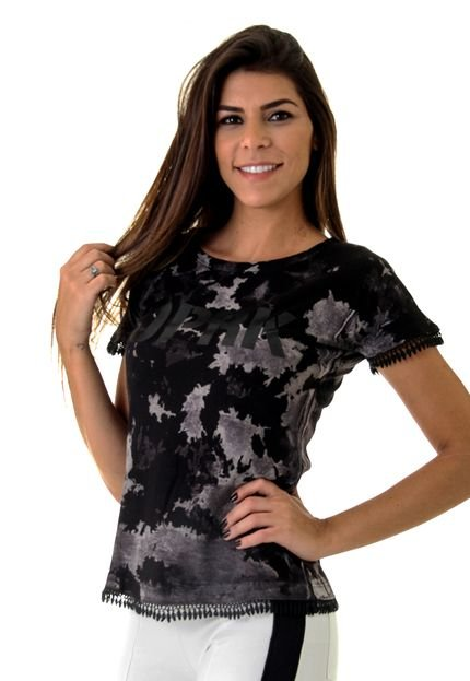 Opera Rock Camiseta Opera Rock T-Shirt Preta yvDJx