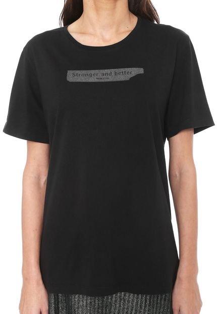 Forum Camiseta Forum Lettering Preto