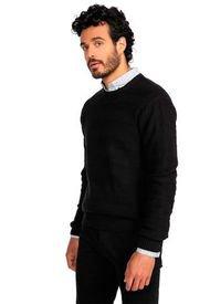 Sweater Casual Negro Guy Laroche
