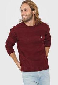 Sweater Bordó Polo Label