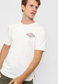 Remera Blanca Quiksilver Dust Of Days