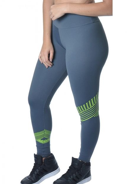 Red Sport Legging Red Sports Recortes Cinza bEeIq