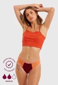Calzón Menstrual Papaya Bragas Burdeo