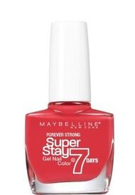 Esmalte De Uñas Superstay 7 Days 501 Cherry Sin Maybelline New York