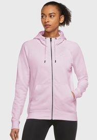 Polerón Nike W NSW ESSNTL FLC FZ HOODIE FT Rosa - Calce Regular