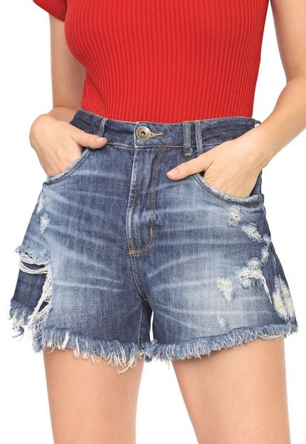 My Favorite Thing(s) Short Jeans My Favorite Thing(s) Destroyed Azul c1r2J