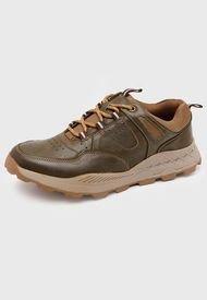 Zapato Casual Cuero Verde Nat Geo