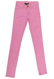 Jeans Pitillo Elasticado Rosa Nicopoly